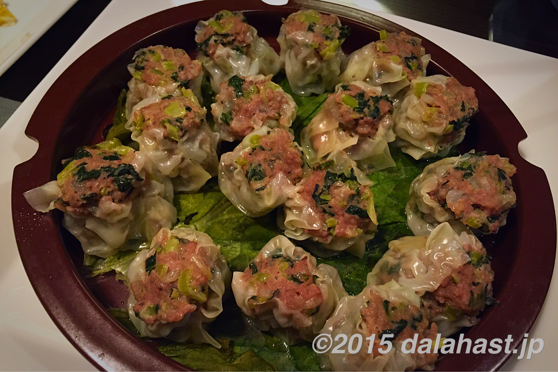 「小松菜シューマイ」栄養豊富で経済的な小松菜をたくさん使ったボリューム満点レシピ
