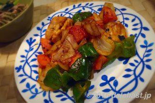 カジキマグロのケチャップ炒め ふわとろ食感が新鮮な白いご飯にぴったりな炒め物