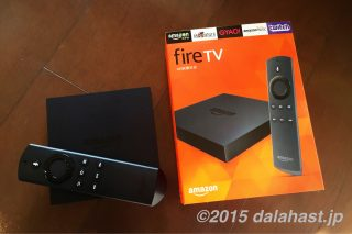【レビュー】 Kindle Fire TV(箱)は動画サクサク快適!KodiとFirestarterアプリでさらに便利になる。