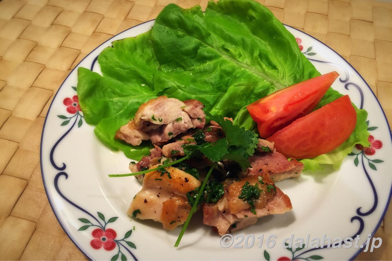 コリアンダーチキン 食欲を増進・消化を促進する香菜を活かした元気レシピ