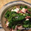 【レシピ】 タコとクレソンのサラダのレシピ 爽やかなレモン果汁とクレソンの苦みが絶妙にマッチ!