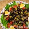 注目のグレインズサラダの美味しいレシピ! ブラウンライス(玄米)サラダ with ひじきドレッシング