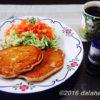 米粉でつくるスパイスパンケーキ ナツメグとシナモンの香りで食欲増進!