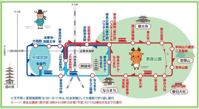 ぐるっとバス 奈良公園ルート
