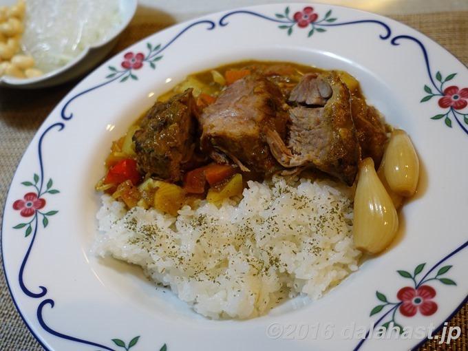 【レシピ】焼き豚カレー ほろほろお肉が美味しいボリューム満点カレー