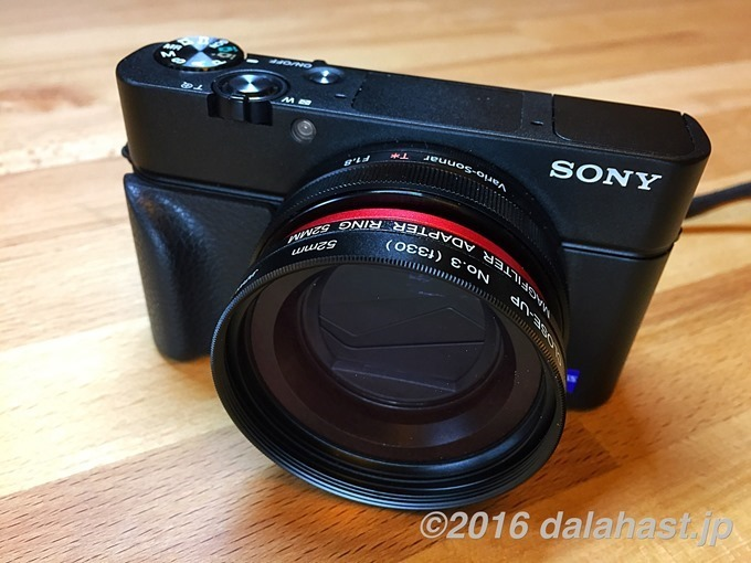 RX100M3 with Magfilterg