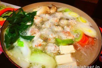 【鍋奉行レシピ】 塩麹の出し汁が旨味をひきだす 塩麹鶏だんご鍋 スープが美味い!