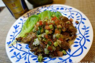 【レシピ】ラム肉のエスニックソテー カレー粉でラム肉特有の臭みを軽減
