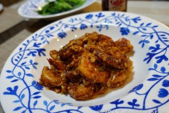 【レシピ】 殻付き海老の旨味が凝縮されたエビチリ