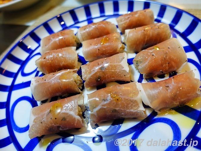 生ハム握り寿司