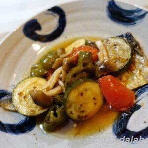 【レシピ】 塩サバと夏野菜の焼きびたし 南蛮酢でさっぱりいただく夏の一品