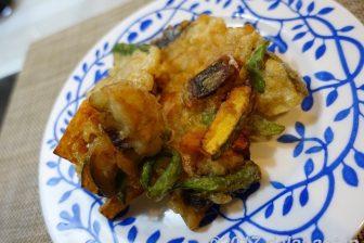 【レシピ】塩サバと野菜の簡単かき揚げ 沈殿片栗粉でカリっと揚げる