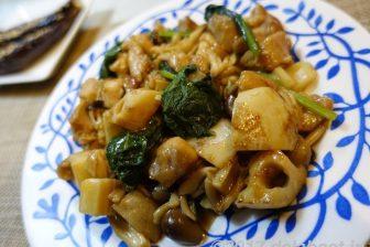 【レシピ】 オイスターソースとお酢の組合せ 「鶏肉とレンコンのオイスー炒め」