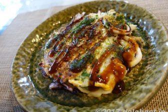 【郷土レシピ】 大阪のいか焼き フライパンでつくる阪神名物の味「デラ焼き風」
