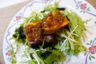 【レシピ】 寒ブリのピリ辛煮 豆板醤とニンニク、ショウガの風味香る煮もの