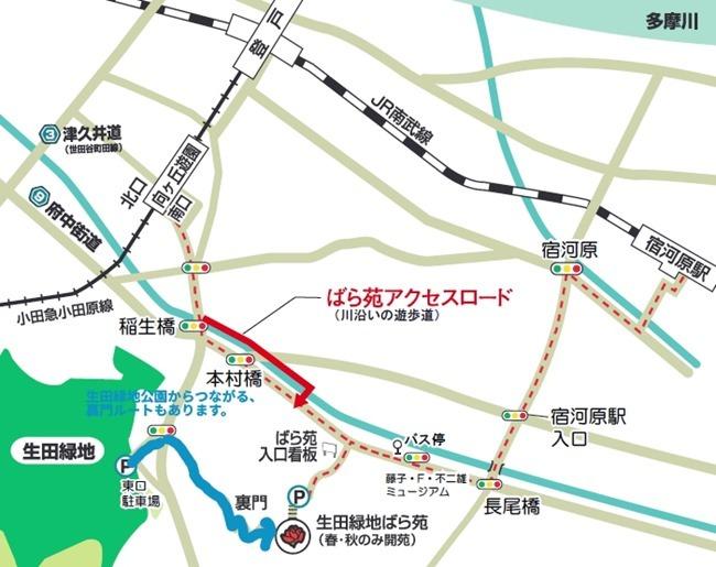 生田緑地公園ルート