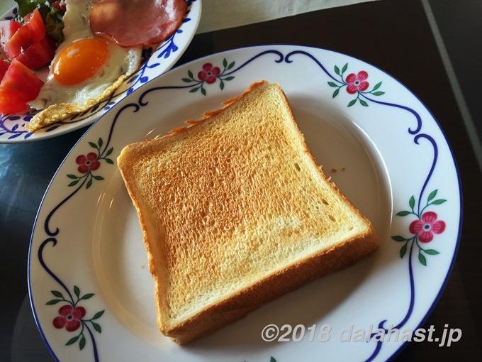 ビストロでトースト
