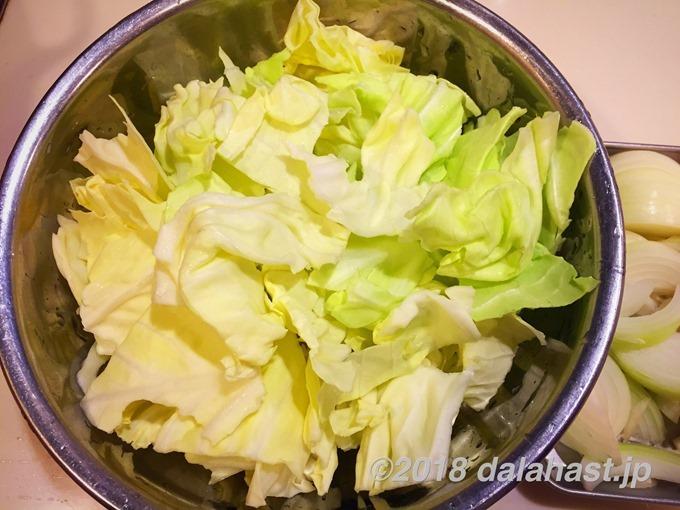 チーズタッカルビ材料2