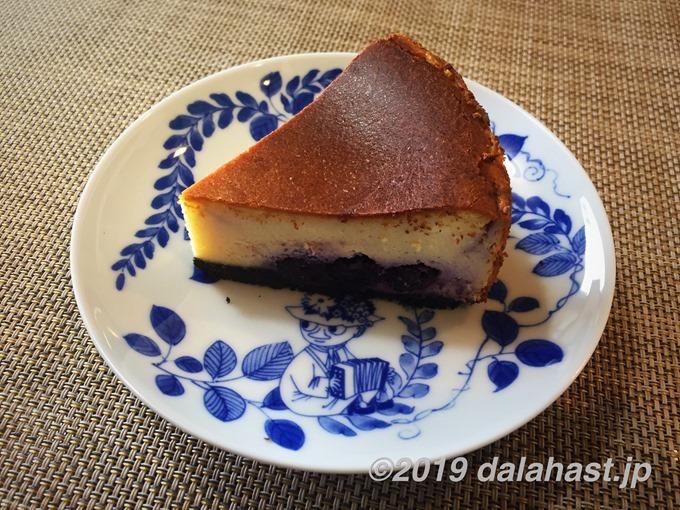 オレオチーズケーキ完成