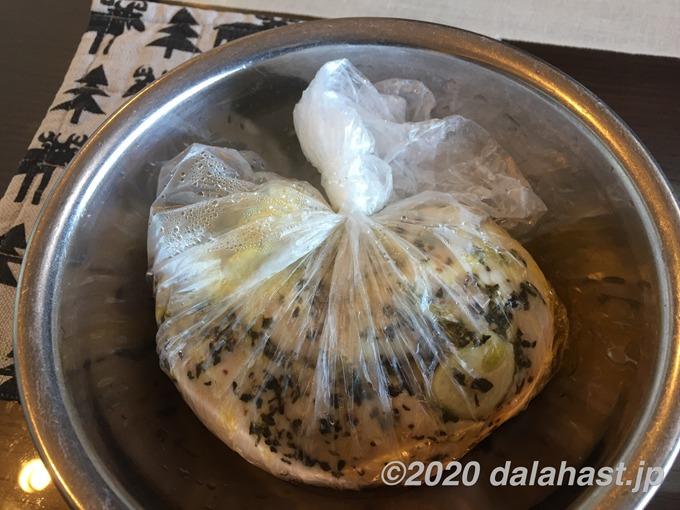 サラダチキン作り方6