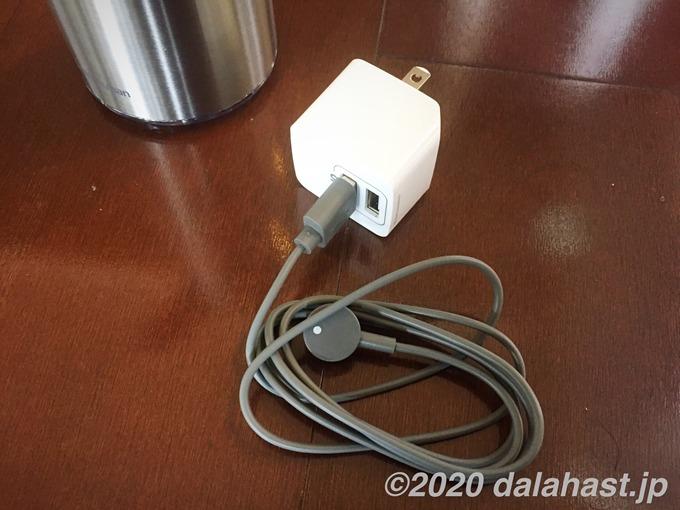 ソープディスペンサー充電方法1