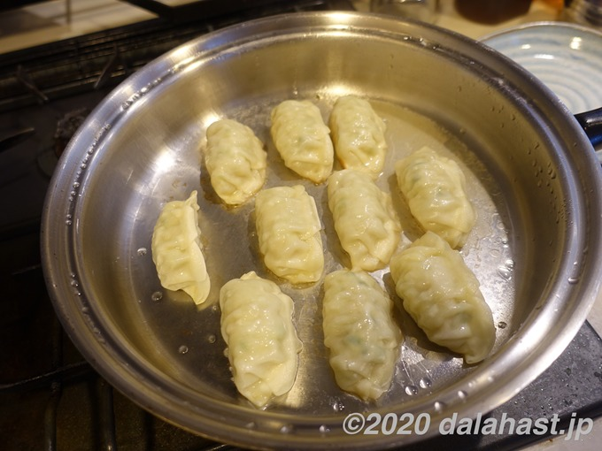 焼き餃子4