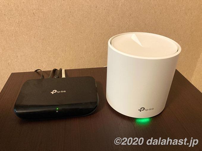 TL-SG1005DとDecoX20