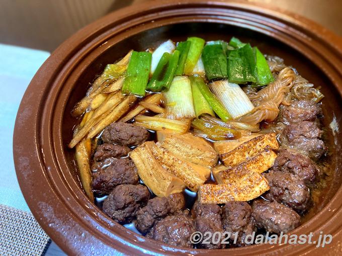 牛挽肉と花椒のすき焼き_栗原心平レシピ