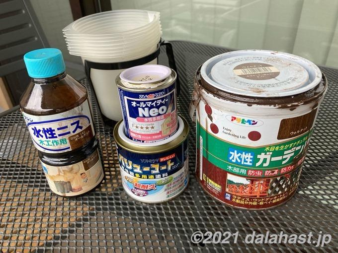 ペンキ塗料の処分方法